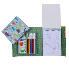 Tiger Tribe Colouring Set Dinosaurs Contents