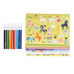 Tiger Tribe Sticker World Magical Unicorns Stickers Markers