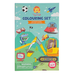 Tiger Tribe Colouring Set Adventures