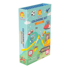 Tiger Tribe Colouring Set Adventures Front Packaging