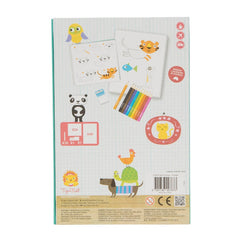 Tiger Tribe How to Draw Animals Set Back Packaging