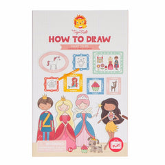 Tiger Tribe How to Draw Fairy Tales