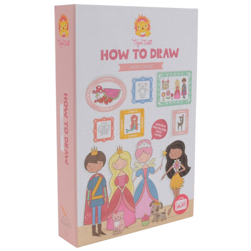 Tiger Tribe How to Draw Fairy Tales Front Packaging