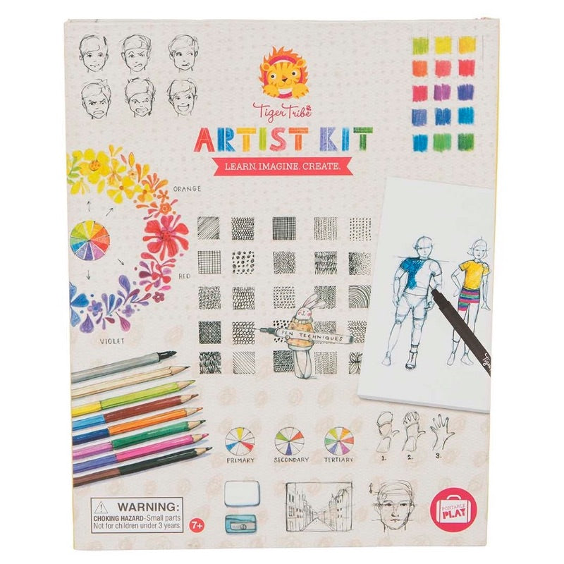 Tiger Tribe Artist Kit - Learn Imagine Create