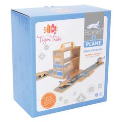 Tiger Tribe Wooden Boxset Airport Packaging