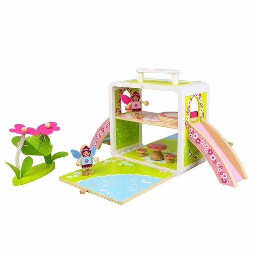 Tiger Tribe Wooden Boxset Fairy House