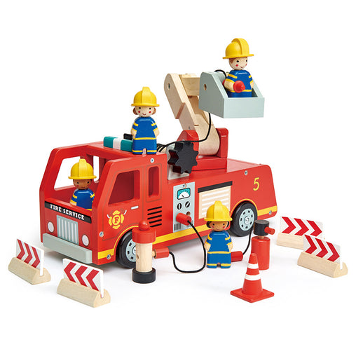 Tender Leaf Toys Fire Engine