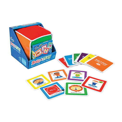 Thinkfun Roll N Play Your Child's First Game