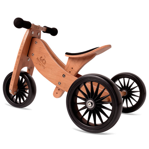 Artiwood Tiny Tot PLUS Bamboo 2-in-1 Balance Bike and Trike