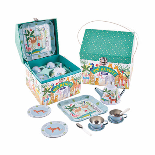 Floss & Rock Jungle Tea Set 11 Piece