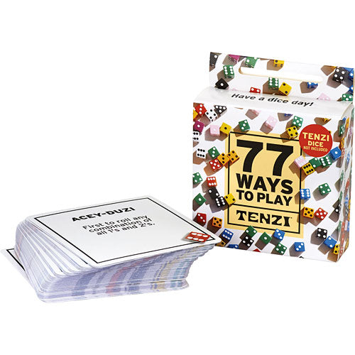 Carma Games Tenzi 77 Ways Card Pack