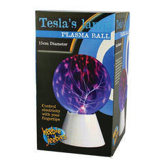 Heebie Jeebies Tesla's Lamp Plasma Ball Packaging
