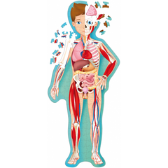 Sassi Junior Travel Learn & Explore the Human Body Puzzle and Book 2