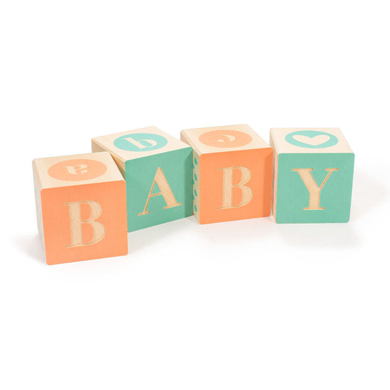 Uncle Goose Baby Blocks Set of 4