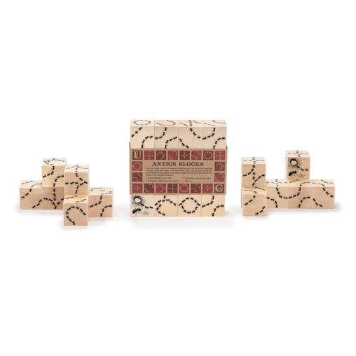 Uncle Goose Antics Ant Wooden Blocks Set of 16