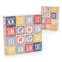 Uncle Goose French Wooden Alphabet Blocks