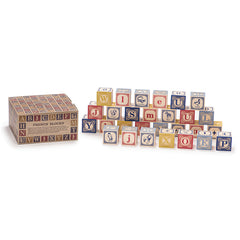 Uncle Goose French Wooden Alphabet Blocks With Packaging