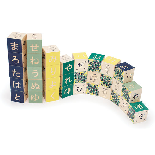 Uncle Goose Japanese Wooden Alphabet Blocks