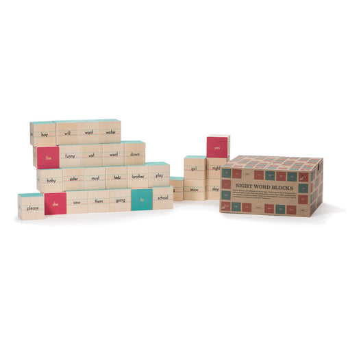 Uncle Goose Sight Word Wooden Blocks
