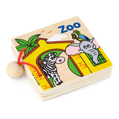 Viga My First Wooden Book Zoo