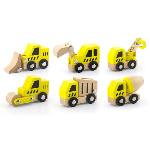 Viga Construction Vehicles 6 Pack