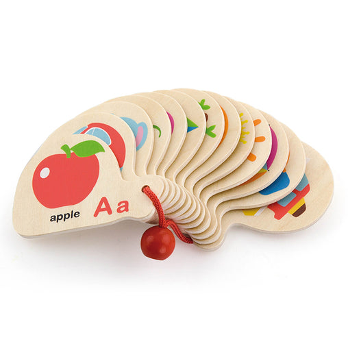 Viga Mini Wooden Alphabet Book