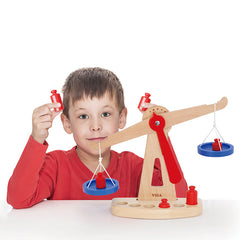 Viga Balancing Scale with Boy