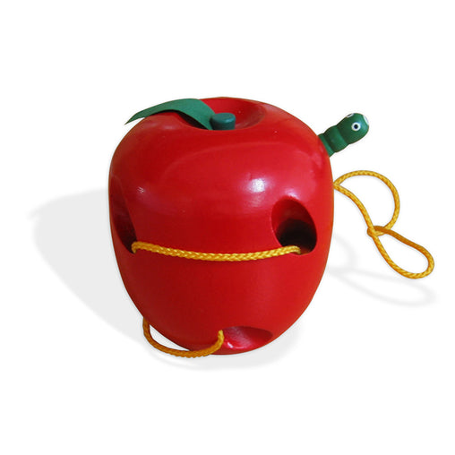 Viga Lacing Apple Wooden