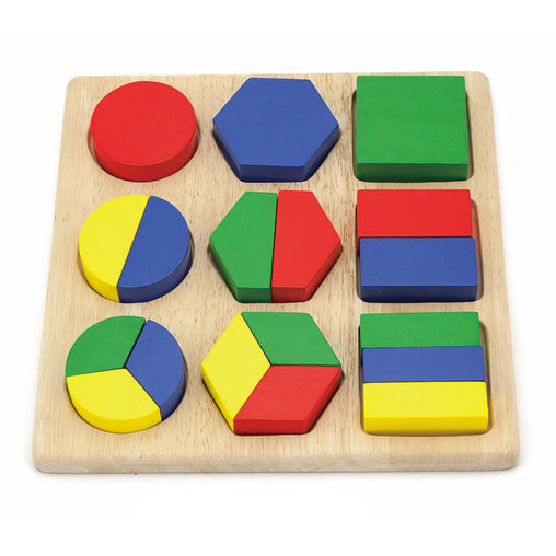 Viga Shape Block Wooden Puzzle