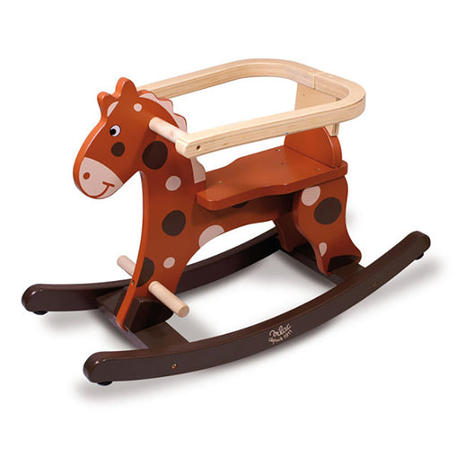 Rocking Horse with Removable Safety Guard
