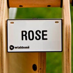 Wishbone Nameplate Rose