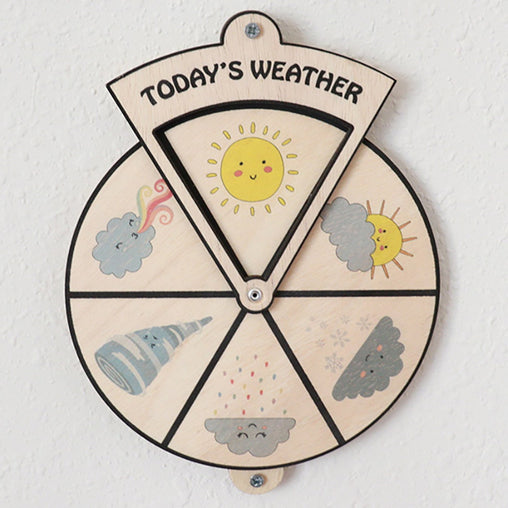 Minisko Learning Wheel Today's Weather