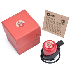Wishbone Bike Bell Endangered Species Edition Red
