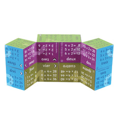 Zoobookoo Cube Book Multiplication Tables 3