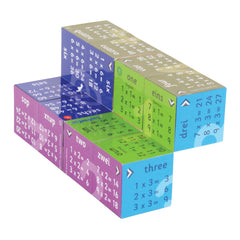 Zoobookoo Cube Book Multiplication Tables 4