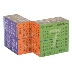 Zoobookoo Cube Book Multiplication Tables 2