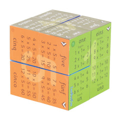 Zoobookoo Cube Book Multiplication Tables 5