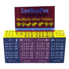 Zoobookoo Cube Book Multiplication Tables Packaging