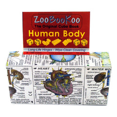 Zoobookoo Cube Book Human Body Packaging