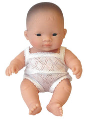 Miniland Doll Asian Boy 21cm