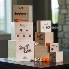 Fat Brain Toys Box and Balls Stacking Game 3