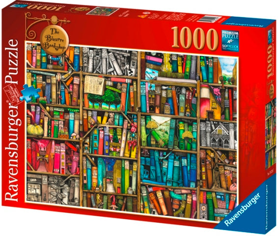 Ravensburger Thompson's Bizarre Bookshop 1000 Piece Puzzle Packaging