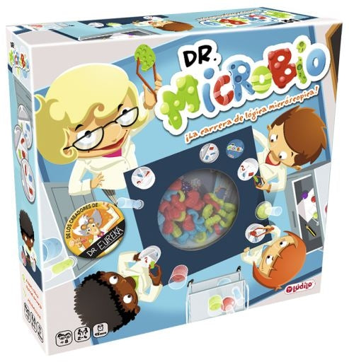 Blue Orange - Dr Microbe Speed Logic Game