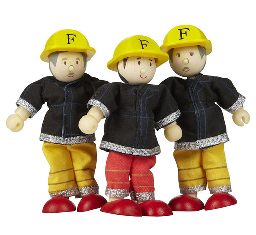 Le Toy Van Budkins Fire Fighters Triple Set