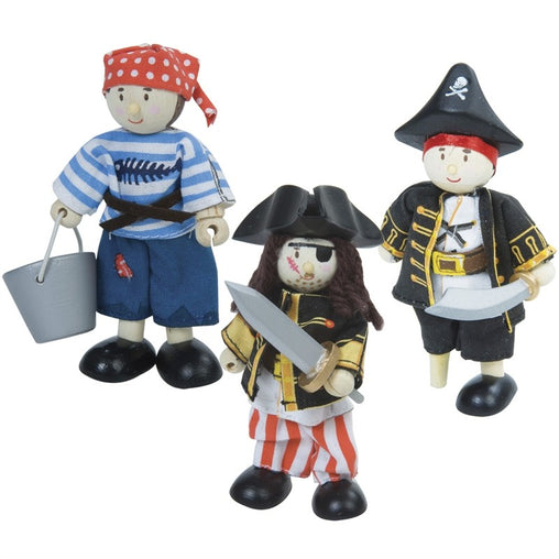 Le Toy Van Budkins Pirate Triple Set