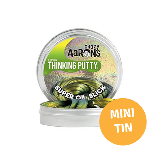 Crazy Aarons Thinking Putty - Mini Tin Colour Shifting Super Oil Slick Putty