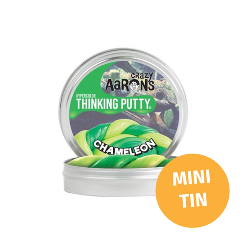 Crazy Aarons Thinking Putty - Mini Tin Hypercolour Heat Sensitive Chameleon