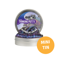 Crazy Aarons Thinking Putty Mini Tin Illusion Super Scarab Putty 2