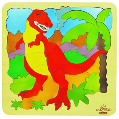 Puzzle T-Rex Double Layer 46 pieces