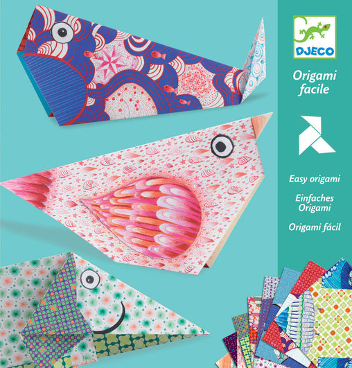 Djeco - Easy Origami Big Animals